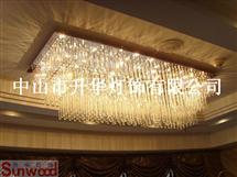 现代水晶灯