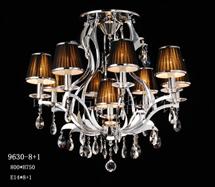 现代水晶灯9360-8+1