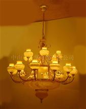 酒楼铜灯18282-18