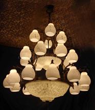 餐厅铜灯17282