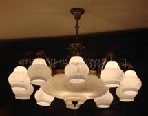 酒店餐厅铜灯19636