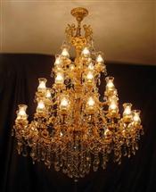 水晶蜡烛灯15441