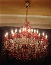 水晶蜡烛灯17059