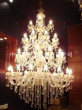 大厅玻璃弯管蜡烛灯6083-1250*1800