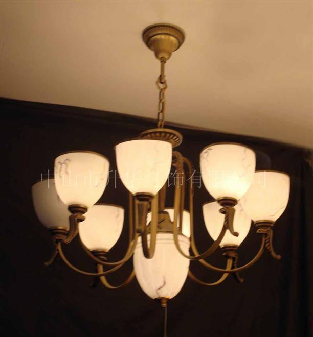 酒店餐厅铜灯15429