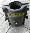 鑄鐵承口哈夫節堵漏器P110 PE管接頭漏水用