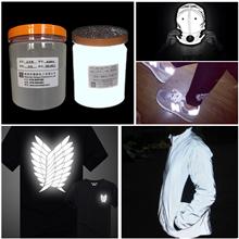工廠供應優惠絲印灰色反光粉 廠家批發服裝印花銀灰色反光粉