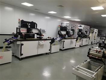 多色絲網印刷機,雙色印刷機,四色印刷機