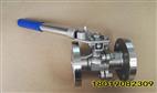 【2019】TQ41F-16P不銹鋼法蘭彈簧自動復位球閥