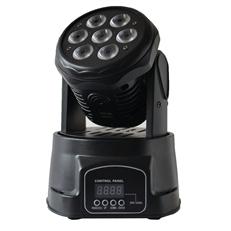 7pcs RGBW LED mini Moving  Head Light TSL-001