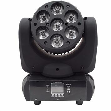 7pcs*10W RGBW 4 in 1 LED Moving Head Wash Light TSL-005