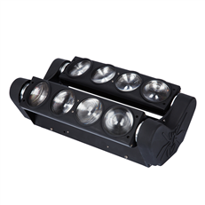8*10W RGBW 4 in 1 Spider LED Moving Head Beam TSL-012