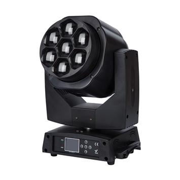7*40W RGBW 4 in 1 LED Moving Head Wash Zoom TSL-009