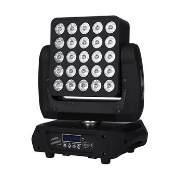25pcs 12W RGBW 4 in 1 Matrix LED Moving Head Beam TSL-010