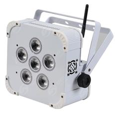 6*18W RGBWA+UV 6 in 1 Wireless Battery LED Par TSWP-007