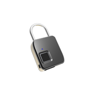 USB Rechargeable Smart Keyless Fingerprint Padlock IP65 Waterproof Anti-Theft Security lock Door