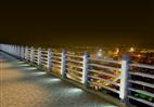 灯光桥梁护栏