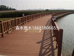 陕西西安咸阳渭南宝鸡铁艺塑木防腐木围栏
