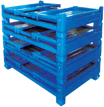 折叠式金属箱