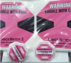 二代防震标签5G振动指示标签Shockwatch可快递