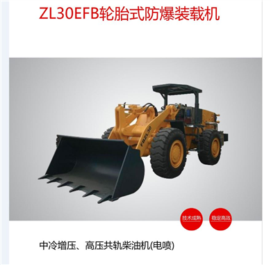 ZL30EFB轮胎式防爆装载机