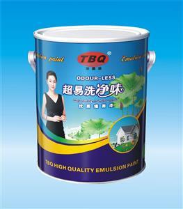 超易洗净味优质内墙漆-易?#26009;?净味-健康环保墙面漆