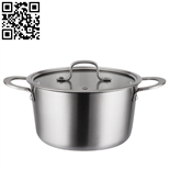 304三层钢汤锅(Stainless steel pot)ZD-SCG08