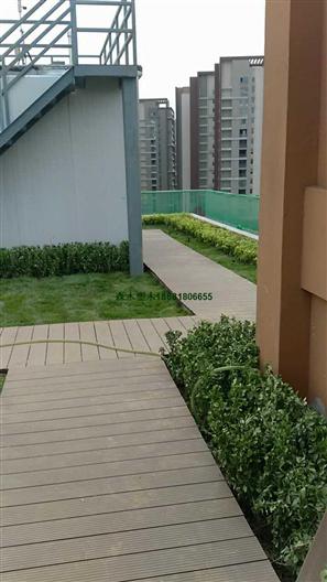 商洛汉中安康三代压花共挤PE/PVC/ASA塑木地板