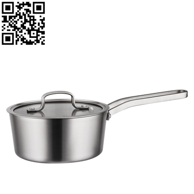 304三層鋼奶鍋(Stainless steel pot)ZD-SCG07