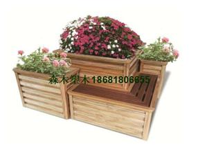 西安木塑花箱、西安马槽花箱、西安白色隔离花盆、西安街道花