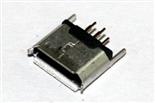 USB10-026   MICRO-5P-180度直插