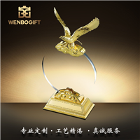 WB-171088大展宏圖雄鷹翱翔擺件