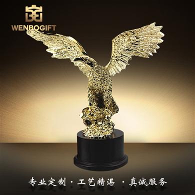 WB-171072本年度最熱銷的飛鷹霸氣獎杯深圳市文博工藝制品有限公司