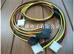 供应针车端子线束,车床连接线,多芯护套线压端子