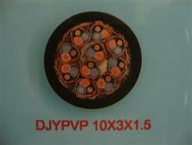 铝泊计算机电缆DJYP3VP3