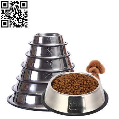 不锈钢宠物盆(Stainless steel pet Basin)ZD-ZYP16