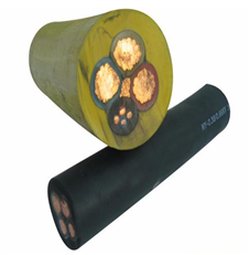YCW-3*35+1*10耐油污橡套软电缆