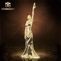 WB-JS1958最佳女人冠軍獎杯,***的女人獎杯,最強女人獎杯,深圳市文博工藝制品有限公司定制