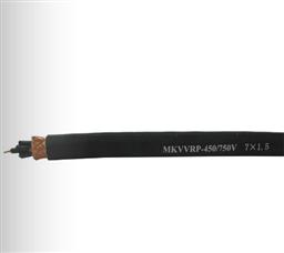 MKVVRP 4*0.5 6*0.5 7*0.5矿用屏蔽控制电缆