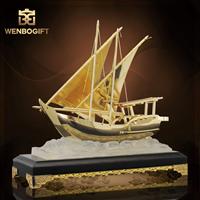 WB-JS1998飛船獎杯,飛船設計紀念獎杯,可定制獎杯,深圳市文博工藝制品有限公司定制