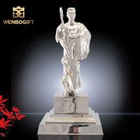 WB-JS19109男子人物獎杯,傳奇人物獎杯,合金男子獎杯,深圳市文博工藝制品有限公司定制