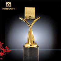 WB-JS19152合金奖杯,冠军奖杯,纪念性奖杯,深圳市文博工艺制品有限公司定制