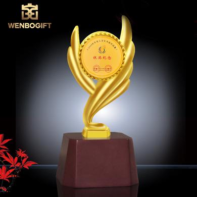 WB-JS19170紀念性合金獎杯,冠軍獎杯,可定制獎杯,深圳市文博工藝制品有限公司定制