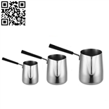 不銹鋼咖啡熱奶杯(Stainless steel milk cup)ZD-KB33