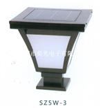 廣州奕光電子制造與銷售SZ5W-3太陽能LED柱頭燈