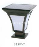節能環保3W大功率SZ3W-7太陽能LED柱頭燈