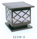 新款新型SZ3W-6太陽能LED柱頭燈