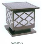 奕光電子制造與銷售SZ5W-5太陽能LED柱頭燈