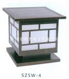 廣州哪有SZ5W-4太陽能5W大功率LED柱頭燈
