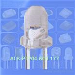 3mm圆头插件光敏管ALS-PT204-6C/L177